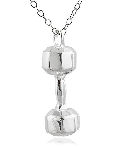 Script Initial Necklace in Sterling Silver Letter K >>> Click on the image for additional details.