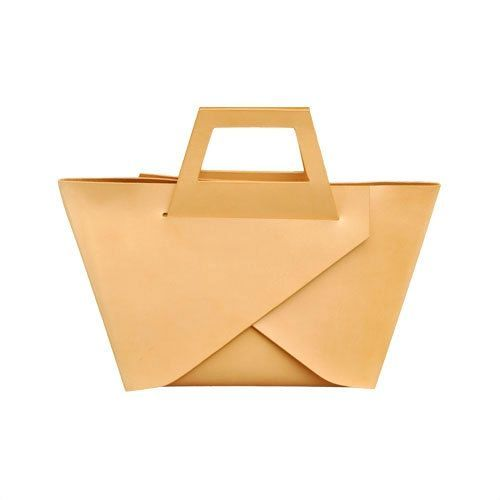 Handmade one piece leather bag