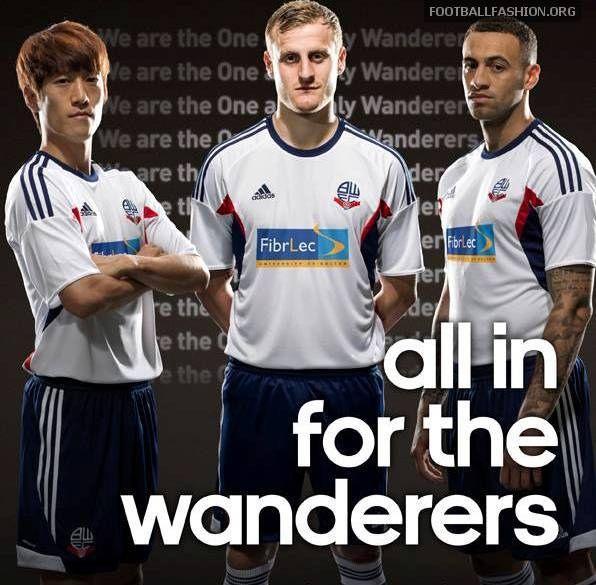 Bolton Wanderers 2013/14 adidas Home Kit