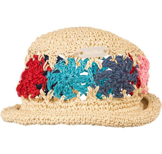 Tuc Tuc Kız Çocuk Yazlık Hasır Şapka - Bebek House