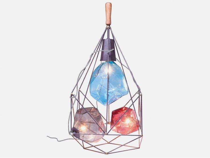 Lampa Podłogowa Diamonds in the Cage — Lampy podłogowe — KARE® Design
