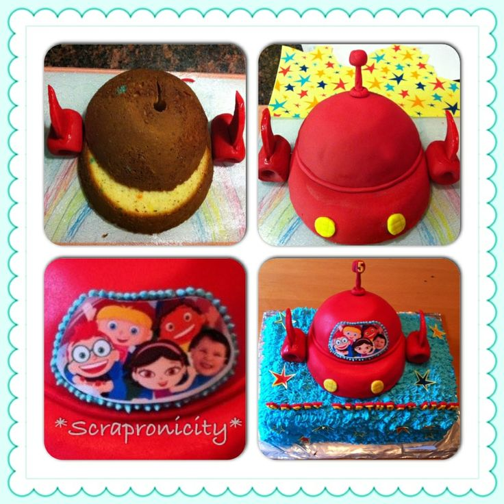Little Einsteins Birthday cake :)