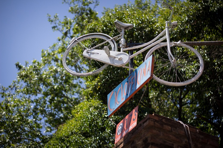 Bike in the sky
