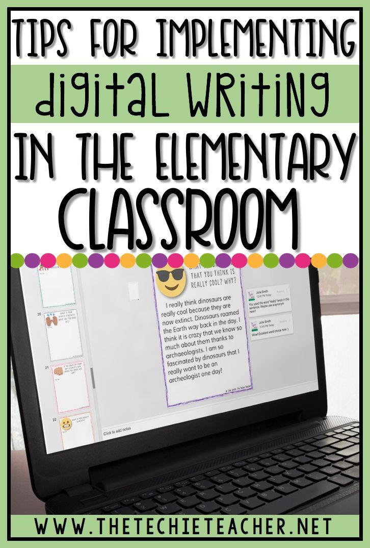 Tips for Implementing Digital Writing Journals into the Classroom. Whether you are a 1:1 classroom or have access to Chromebooks or computers, using paperless writing journals can transform your writing block. Come learn some tips for using writing journals in Google Slides.