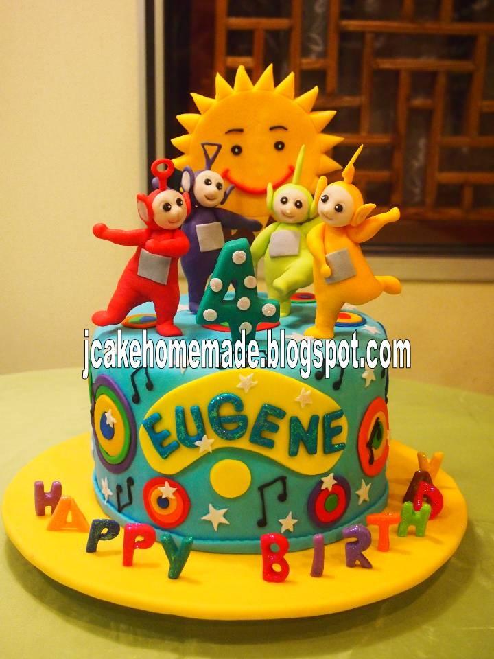 Jcakehomemade: Teletubbies birthday cake