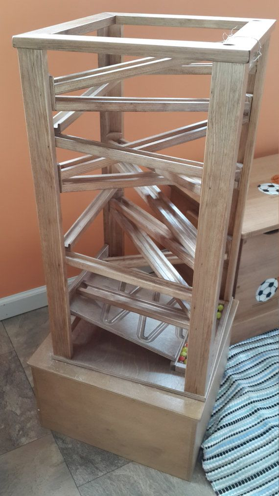 189 99 Etsy Wooden Marble Run Maze 30 Tall X 15 X 15