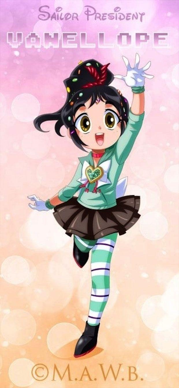 Les princesses Disney métamorphosées en personnages de Sailor Moon   Daily Geek Show