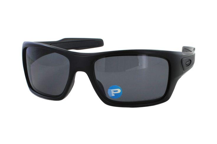 Oakley Turbine OO9263 07 Sonnenbrille in matte black | Manche Sonnenbrillen schützen Ihre Augen, andere schützen Ihr Image. Oakley-Sonnenbrillen schützen Beides. Ein Stil für jeden Geschmack, mit der Technologie für jeden Bedarf. Sonnenbrillen für jede Situation.Gönnen Sie sich eine...