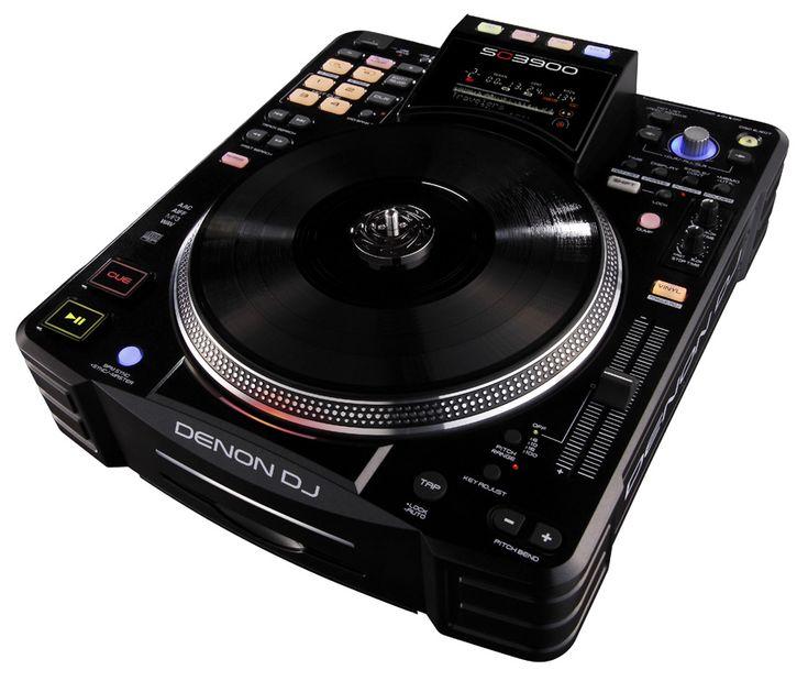 Turntable like: Denon SC3900 Digital Turntable & Media Controller