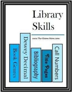 Book Genres, Bibliographies, and Library Skills Activities