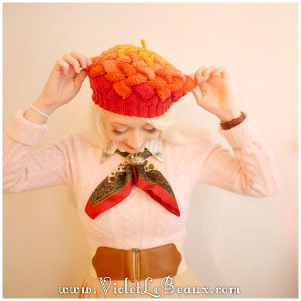 The Best Hat In The World - http://www.violetlebeaux.com/2015/03/best-hat-world/