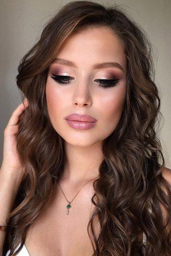 30 Delighting Fall Wedding Makeup Ideas