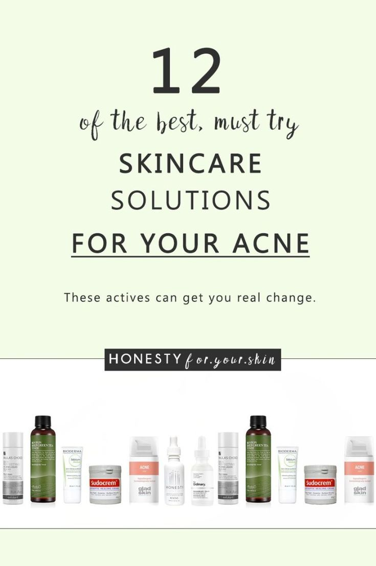 12 Of The Best Skincare Products For Acne – must-try recommendations!
