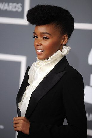 And she always looks absolutely flawless in her trademark white and black. | 18 Times Janelle Monáe Killed It