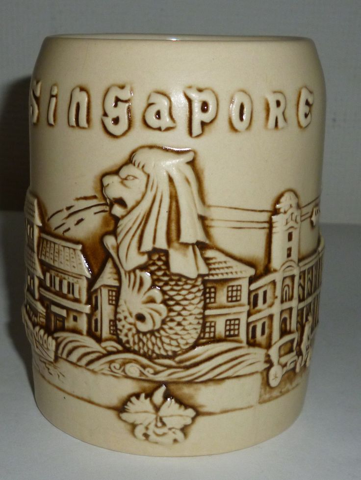 Singapore City Scenes Coffee Mug
