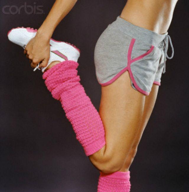 Meia polaina/ moda fitness