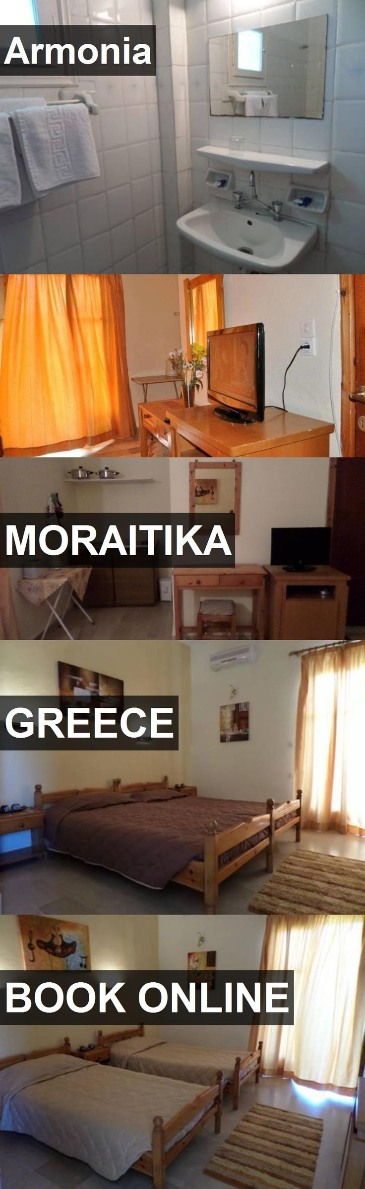 Hotel Armonia in Moraitika, Greece. For more information, photos, reviews and best prices please follow the link. #Greece #Moraitika #travel #vacation #hotel