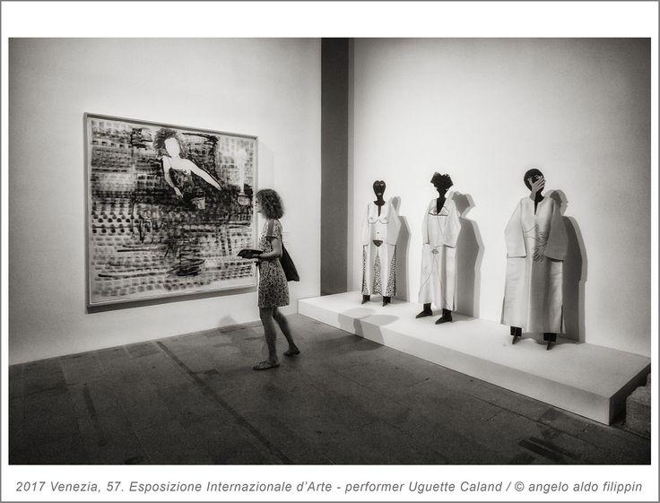 2017 Venezia, 57. Esposizione Internazionale d'Arte - performer Uguette Caland