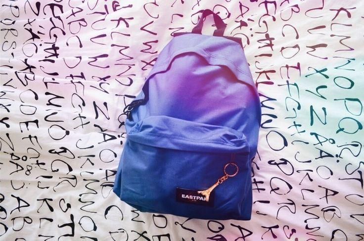 Eastpak, backpack, DIY, pimped. gonna happend