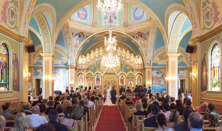 Alex Campbell Photography - Alberta Wedding Photographer - This church is the St. Josephat Ukranian church on 97th street in Edmonton. Absolutely stunning!!