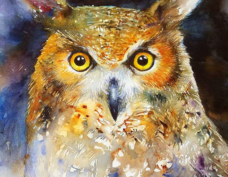 260 best artists arti chauhan images on pinterest water for Night owl paint color