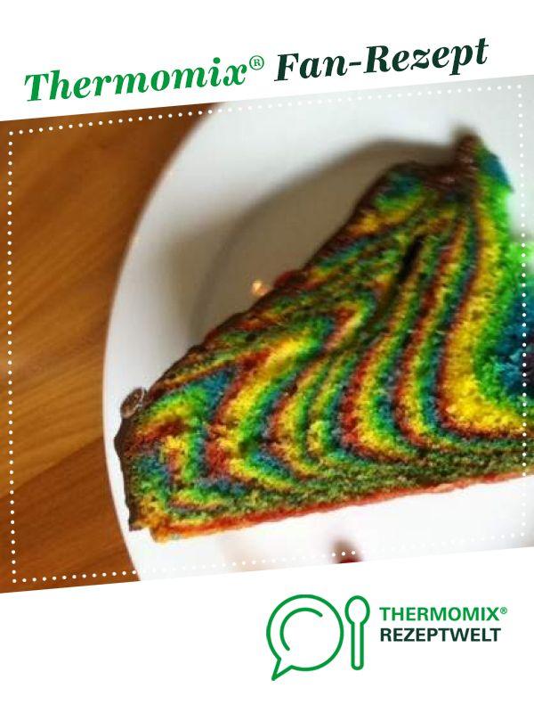 Regenbogenkuchen Ideal Fur Kindergeburtstag Rezept Arbeit