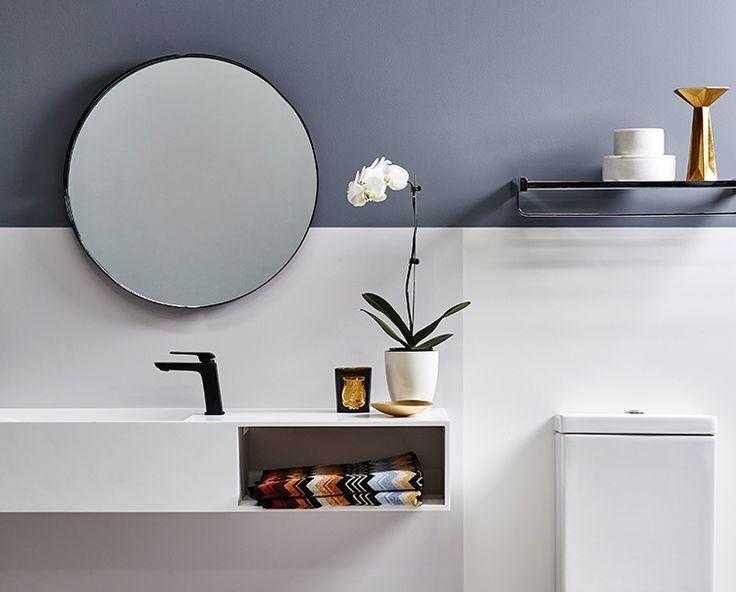 83 best hotel inspired bathroom trend images on pinterest for Latest bathroom trends australia