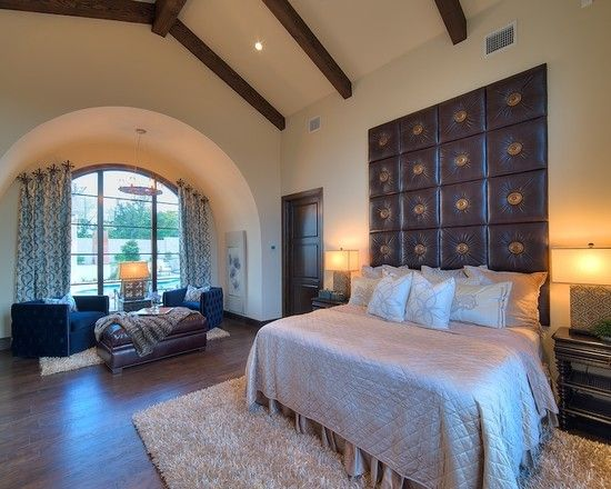 Home Decor Mediterranean Bedroom. ベッドルームのインテリアコーディネイト実例
