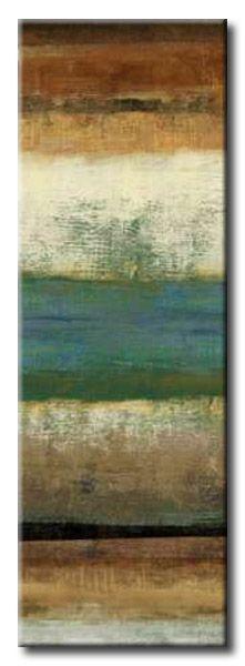 32_PEA49 _ Sky / Cuadro Abstracto, Panel con Franjas