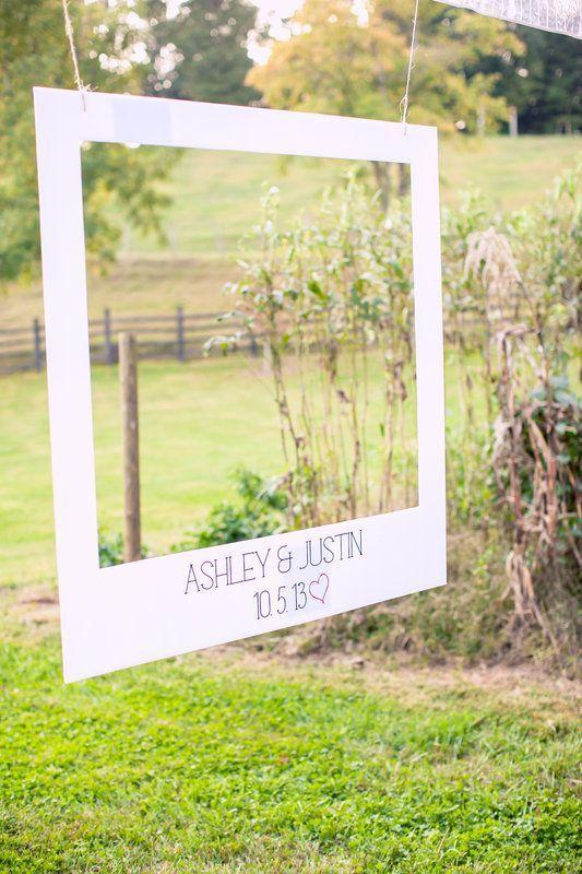 DIY Polaroid Photo Booth | DIY polaroid photo booth Ashley + Justin Wedding 10.5.13 Photo By ...