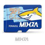 MIXZA TOHAOLL Ocean Series 64GB Micro SD Memory Card