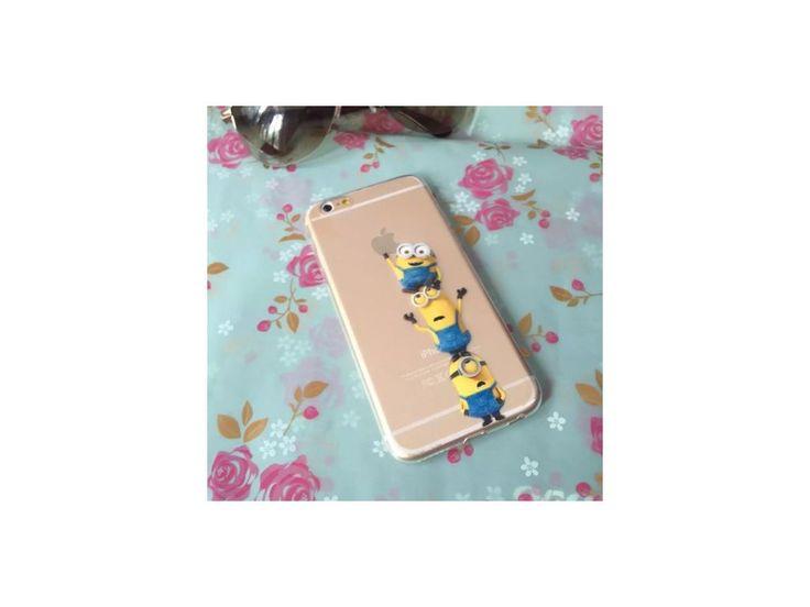 Silikónový kryt (obal) pre iPhone 6 - mimoni (Despicable me)