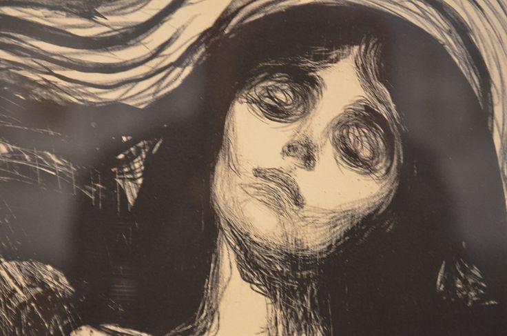 Madonna, Edvard Munch, 1895/1902 | par Lightbender
