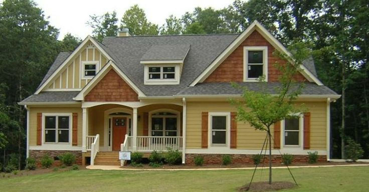 29 best craftsman style homes images on pinterest for Craftsman style homes in atlanta