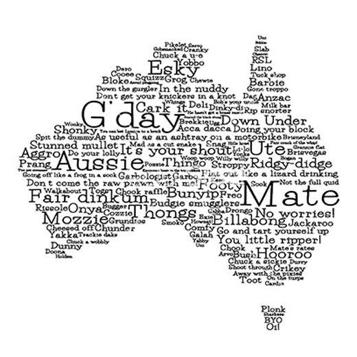 how to speak australian hahaha