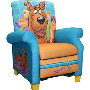 Warner Bros. Scooby Doo Paws Recliner walmart.com