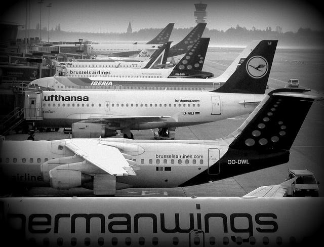Airport Brussels (BXL) by kozusnik.eu, via Flickr