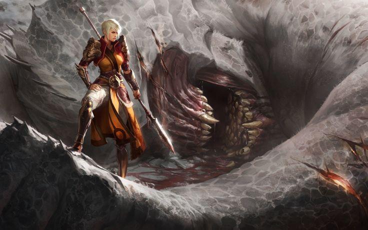 Diablo III, Diablo, Video Games, Fantasy Art, Digital Art Wallpaper