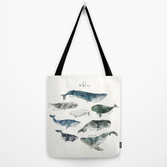 Tote Bag - jelly jelly fish by VIDA VIDA VlQDYm