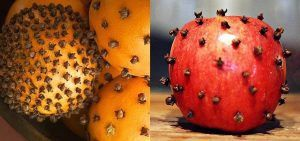 Repel fruit flies forever by sticking cloves in an orange or apple. Place them in the kitchen where they usually hang out. Repin for later!