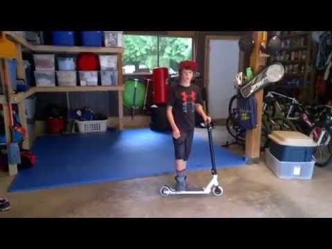 ▶ zach shaw pro scooter shop rider - his custom ride