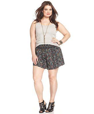 109 best Plus Size Shorts images on Pinterest