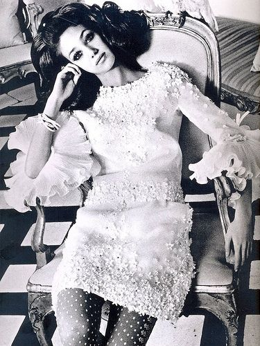 Valentino, 1960's  Goodness... I forgot... I had a dress like this in the 60's!