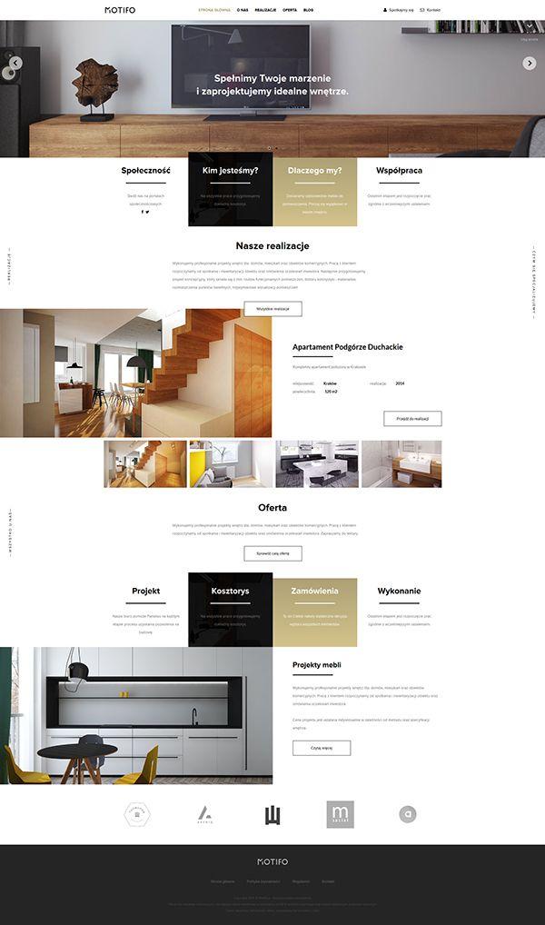 Motifo Interior Design Architect Branding Abduzeedo Inspiration Websites Drs Decorating