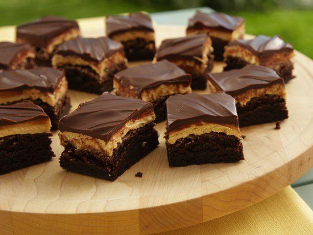 Peanut Butter Truffle Brownies: Desserts, Brownie Recipes, Peanuts, Brownies Recipes, Food, Betty Crocker, Peanut Butter Truffles, Peanut Butter Brownies, Truffles Brownies