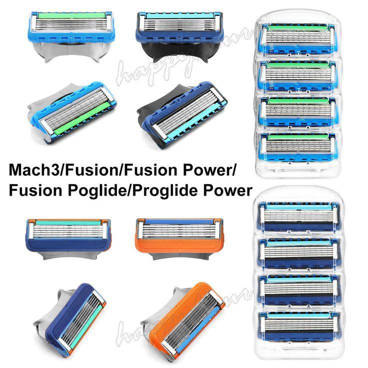 GILLETTE Mach3 FUSION Proglide POWER Replacement Razor Blades 4 / 8 / 16 Pack | Health & Beauty, Shaving & Hair Removal, Razors & Razor Blades | eBay!