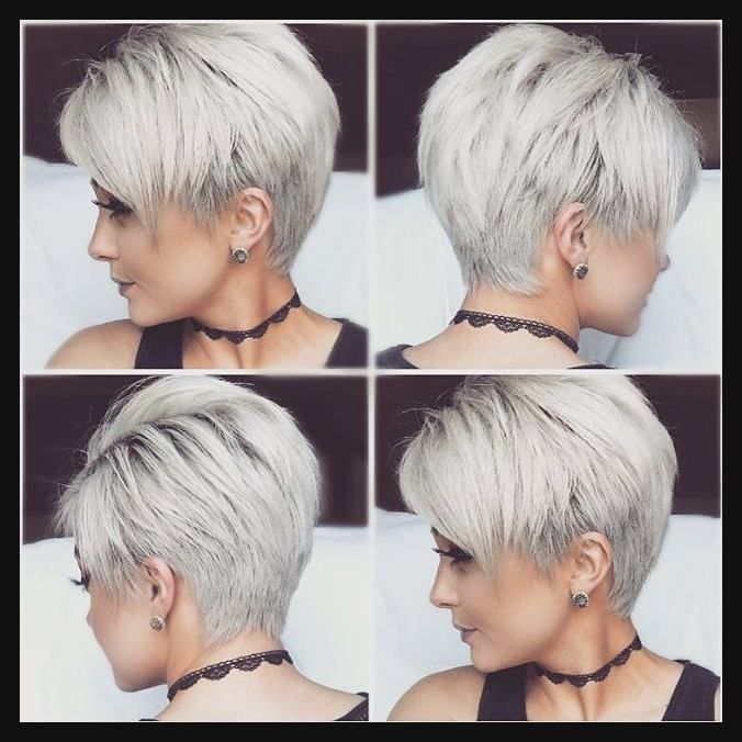 Image Result For 360 View Of Pixie Haircuts Pixie Perfection Einfache Frisuren Short Hairstyles For Thick Hair Hair Styles Short Hair Styles