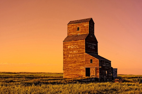 The Canadian Prairies, Saskatchewan Canada. They call Saskatchewan land of the living skis for good reason.