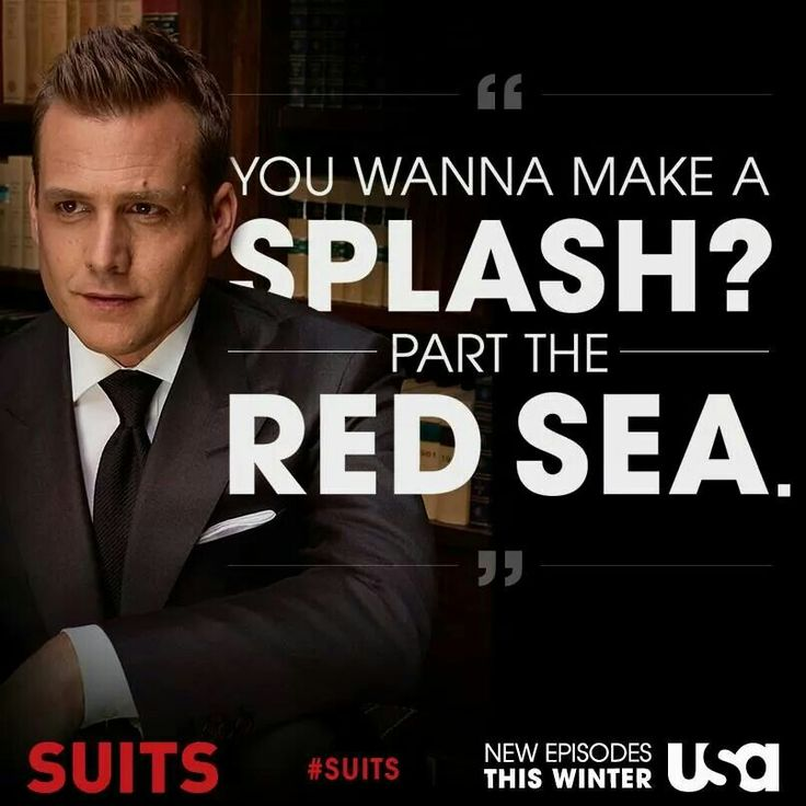 Suits ... Harvey Spector