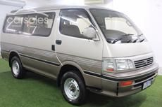 1994 Toyota Hiace Super Custom Auto 4x4